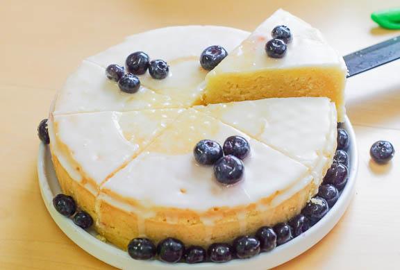 Yogurt Cake Recipe In Pressure Cooker: Lemon Yogurt Cake With Blueberries